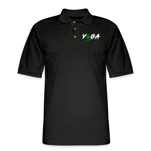 Yoga - Men's Pique Polo Shirt