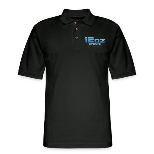 12ozSports Logo Polo - Men's Pique Polo Shirt