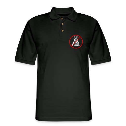 Illuminati - Men's Pique Polo Shirt