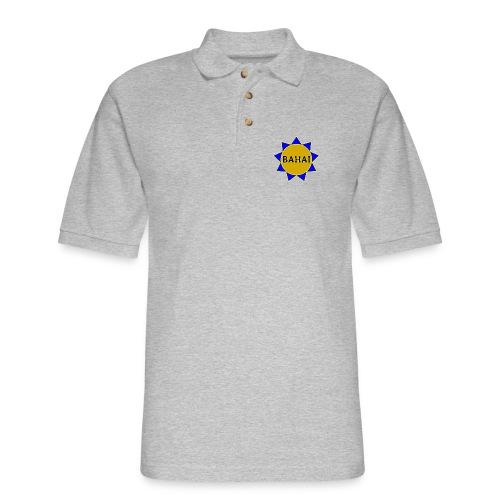 Bahai star - Men's Pique Polo Shirt
