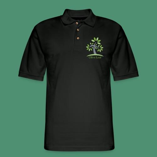 Olive Leaf - Men's Pique Polo Shirt