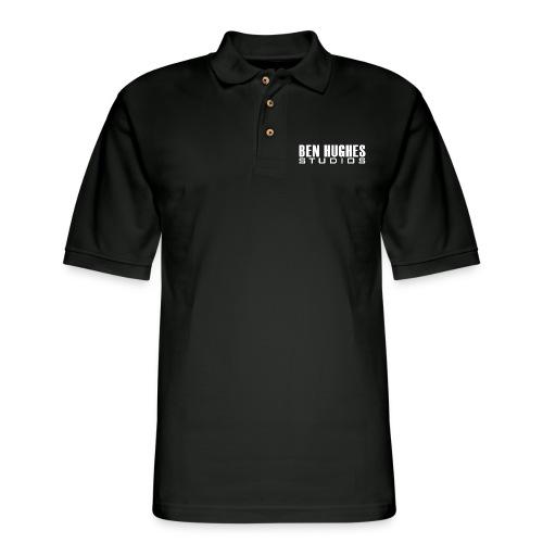Ben Hughes LOGO png - Men's Pique Polo Shirt