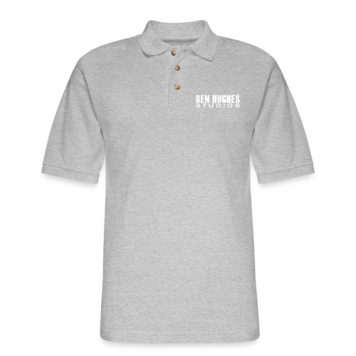 Ben Hughes LOGO png - Men's Pique Polo Shirt