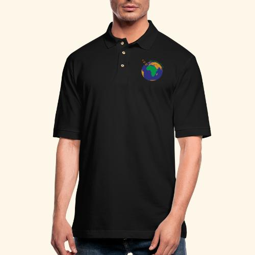 The CG137 logo - Men's Pique Polo Shirt