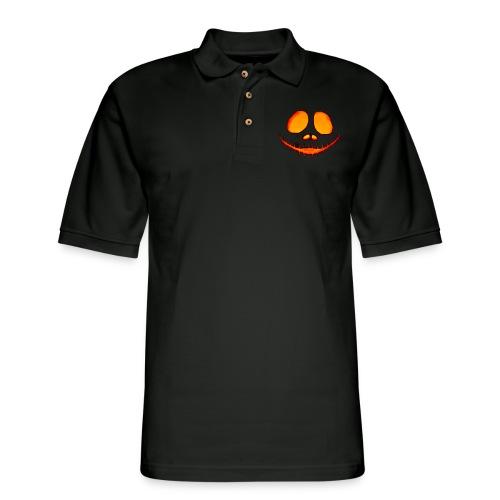 Halloween Pumpkin - Men's Pique Polo Shirt