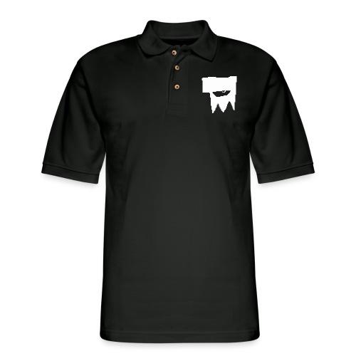 KOOLSKULL CLASSIC 2008 MS PAINT LOGO - Men's Pique Polo Shirt