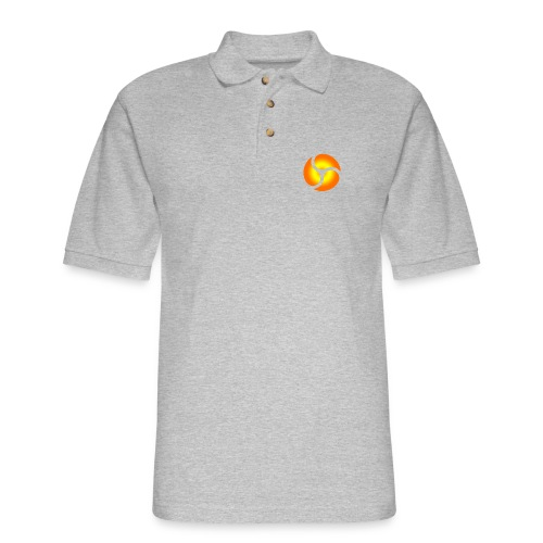 triskele harmony - Men's Pique Polo Shirt