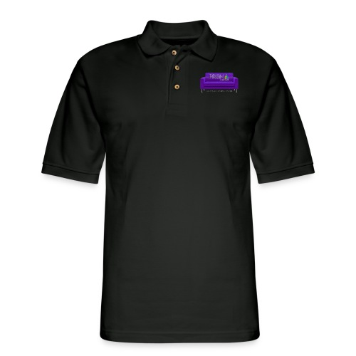 Purple Couch - Men's Pique Polo Shirt
