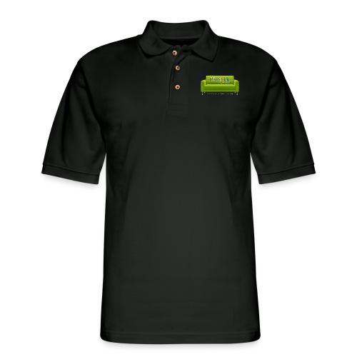 Green Couch - Men's Pique Polo Shirt