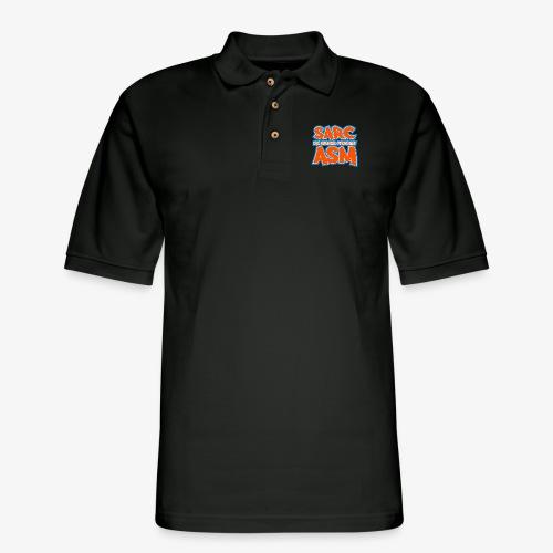 Sarc, My Second Favorite Asm - Men's Pique Polo Shirt