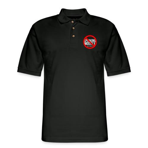 No Speaking Moistly! - Men's Pique Polo Shirt