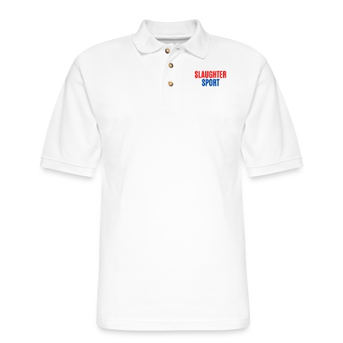 SLAUGHTERSPORT.COM - Men's Pique Polo Shirt
