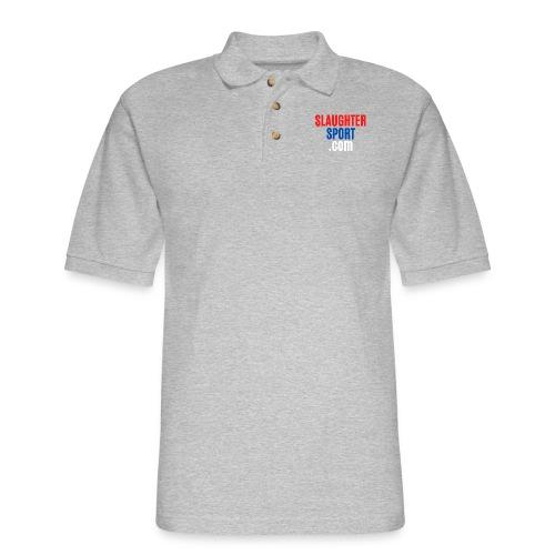 SLAUGHTERSPORT.COM - Men's Pique Polo Shirt