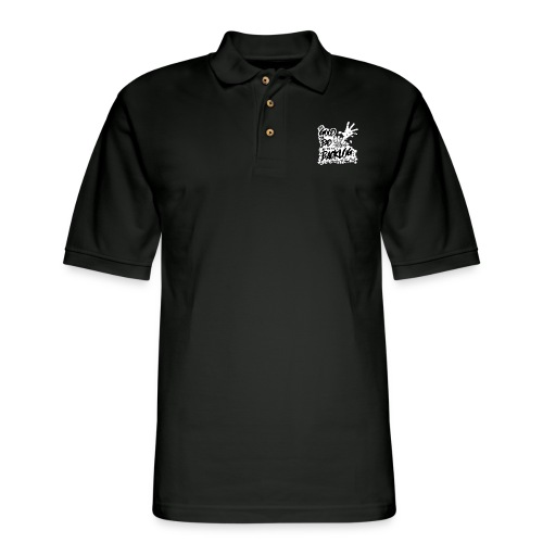 Good, Bad, Backlog - OG no background - Men's Pique Polo Shirt