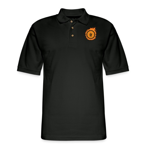Bike Fire - Men's Pique Polo Shirt