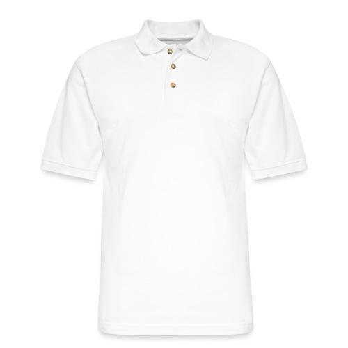 Lady CEO Wt Splash - Men's Pique Polo Shirt