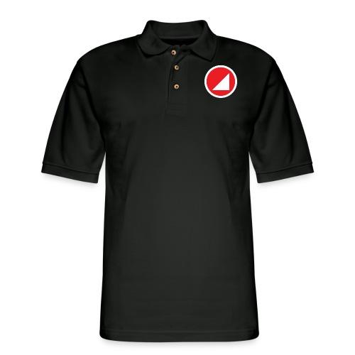 BULGEBULRoundLogo - Men's Pique Polo Shirt