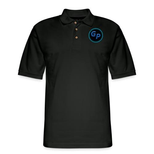 Large Logo Without Panther - Men's Pique Polo Shirt