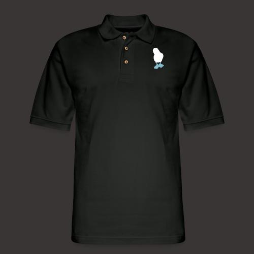 Boobies_Logo_png - Men's Pique Polo Shirt