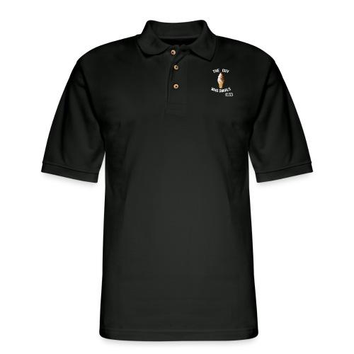 The guy Who Swirls T-Shirt - Men's Pique Polo Shirt