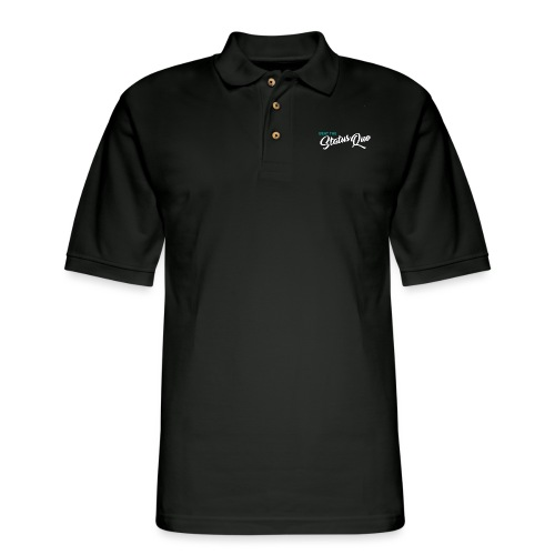Beat The StatusQuo - Men's Pique Polo Shirt