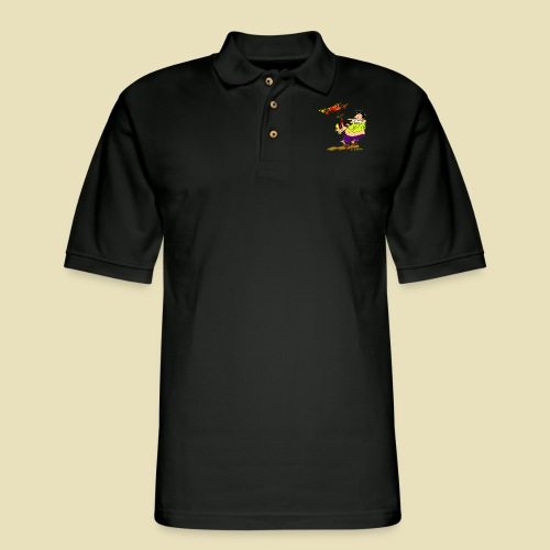 GrisDismation Ongher Droning Out Tshirt - Men's Pique Polo Shirt