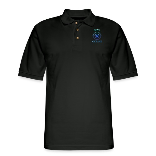 logo_nova_oceans - Men's Pique Polo Shirt