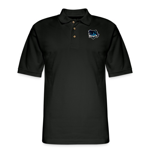 Myisty blue - Men's Pique Polo Shirt