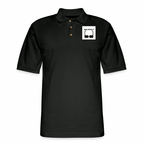 Deal with it - Men's Pique Polo Shirt