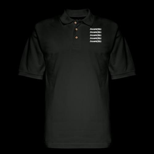 Multi Name - Men's Pique Polo Shirt
