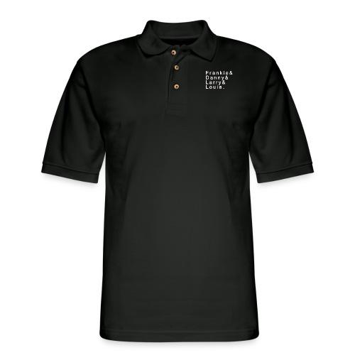 Frankie - Danny - Larry - Louie - Men's Pique Polo Shirt