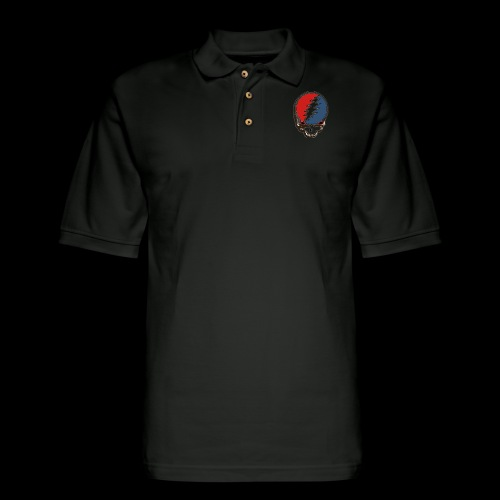 Deadhead logo - Men's Pique Polo Shirt