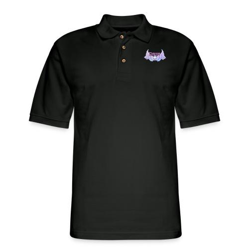 Derpy Main Merch - Men's Pique Polo Shirt