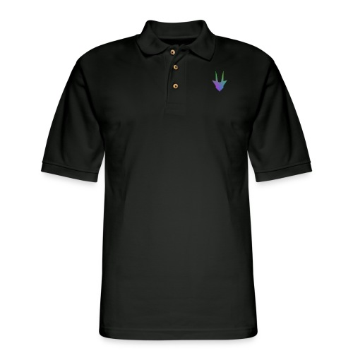 Quantum Rainbow - Men's Pique Polo Shirt