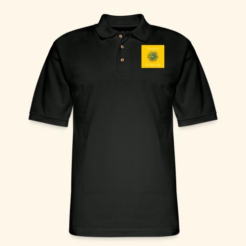 Awaken Humanity Brand - Men's Pique Polo Shirt
