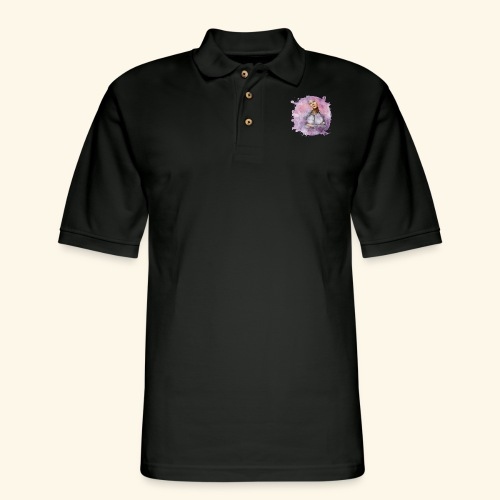 Nebula - Men's Pique Polo Shirt