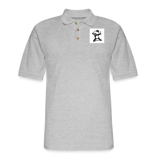 Panda DaB - Men's Pique Polo Shirt