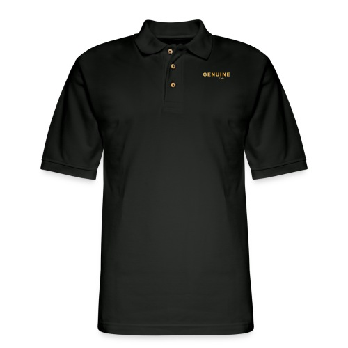 Genuine - Hobag - Men's Pique Polo Shirt