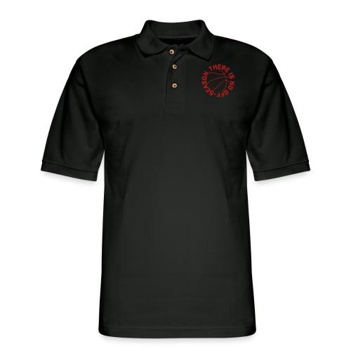 Basketball No Off Season - Men's Pique Polo Shirt