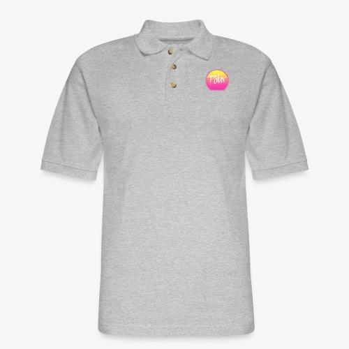 Una Vuelta al Sol - Men's Pique Polo Shirt