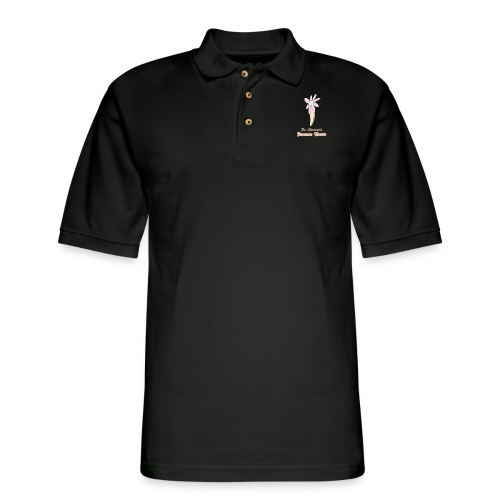 The Minnesota Banana Flower - Men's Pique Polo Shirt