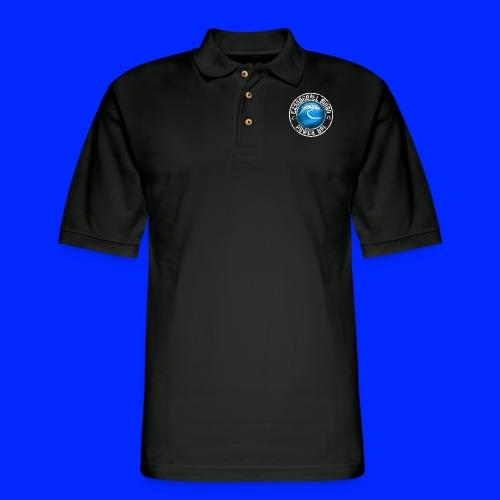 Vintage Tsunami Power-Up Tee - Men's Pique Polo Shirt