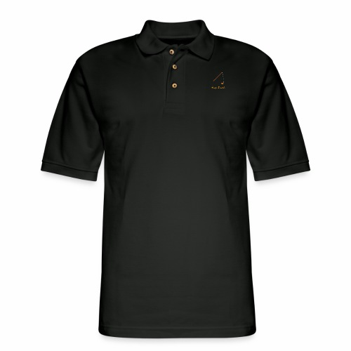 Keep it Reel (Orange) - Men's Pique Polo Shirt