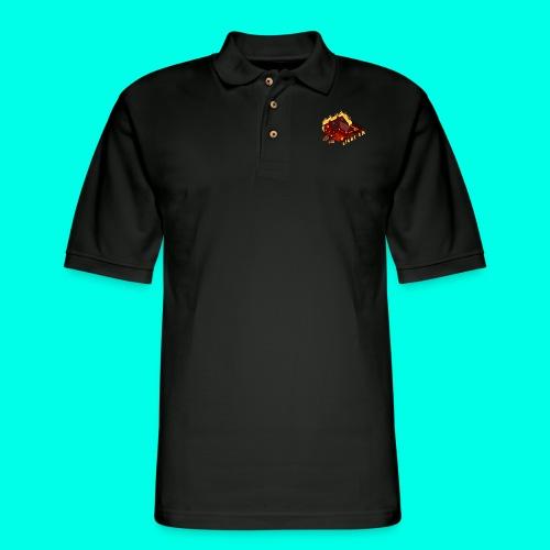 LIGHT'EM UP - Men's Pique Polo Shirt