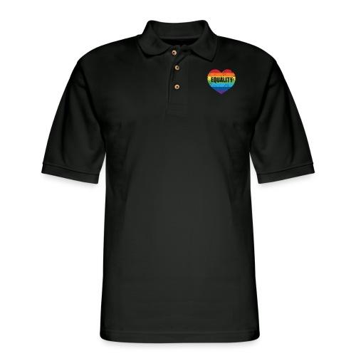 Equality - Men's Pique Polo Shirt