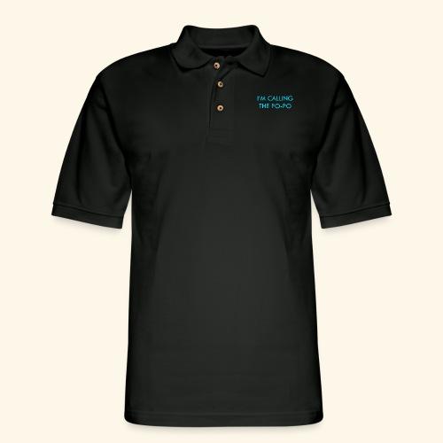 I'M CALLING THE PO-PO | ABBEY HOBBO INSPIRED - Men's Pique Polo Shirt