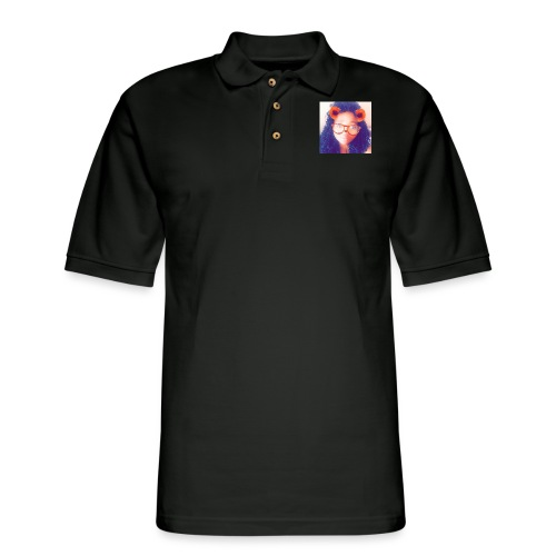 Just a face - Men's Pique Polo Shirt