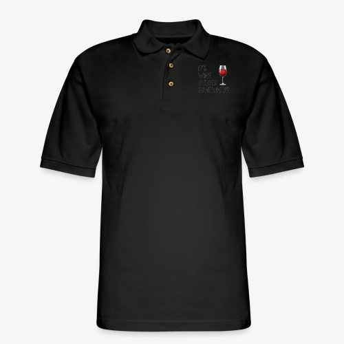 It's Wine O'clock Somewhere - Men's Pique Polo Shirt