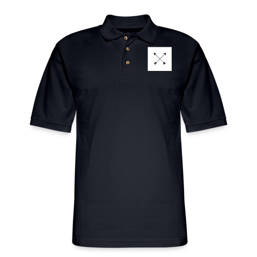 arrows - Men's Pique Polo Shirt