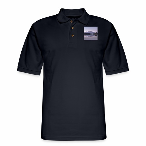 Rockies with sleeves - Men's Pique Polo Shirt
